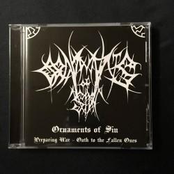 "ORNAMENTS OF SIN ""Preparing for War"" CD"