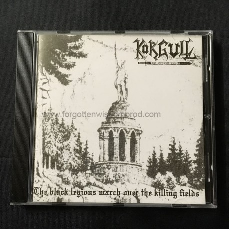 KORGULL THE EXTERMINATOR/MORBID YELL split CD