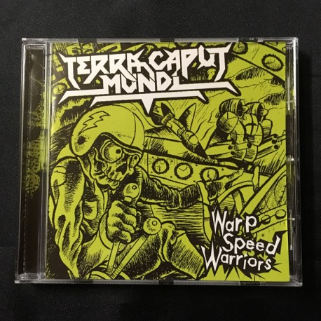 "TERRA CAPUT MUNDI ""Warp Speed Warriors"" CD"