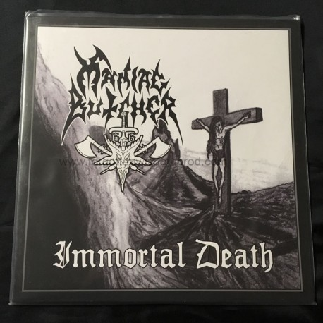 "MANIAC BUTCHER ""Immortal Death"" 12""LP"