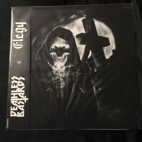 "DEATHLESS BASTARDS/ELEGY split 12""LP"