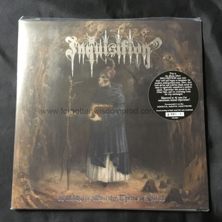 "INQUISITION ""Evoking the Majestic Throne of Satan"" 2xLP"