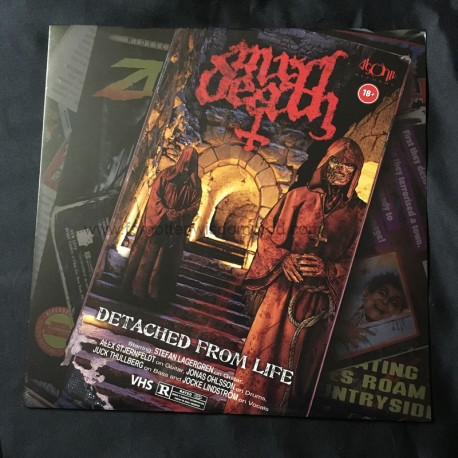 """MR DEATH """"Detached From Life"""" 12""""LP"""