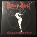 "POWER FROM HELL ""Sadismo"" 12""LP"