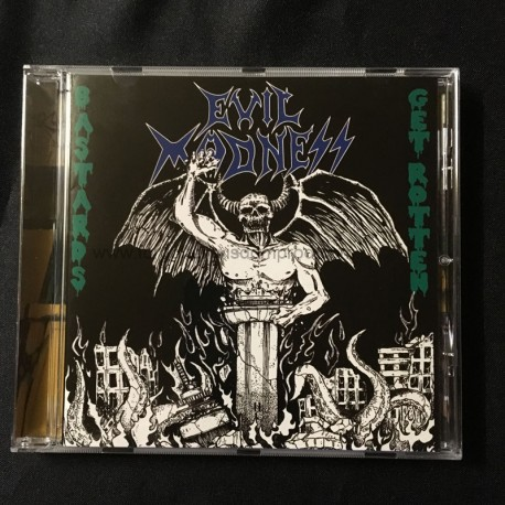 "EVIL MADNESS ""Bastards get Rotten"" CD"