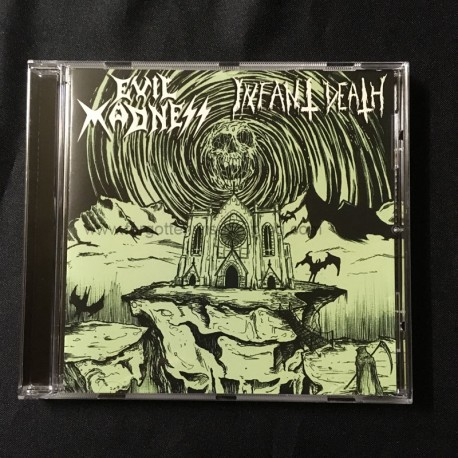 EVIL MADNESS/INFANT DEATH split CD