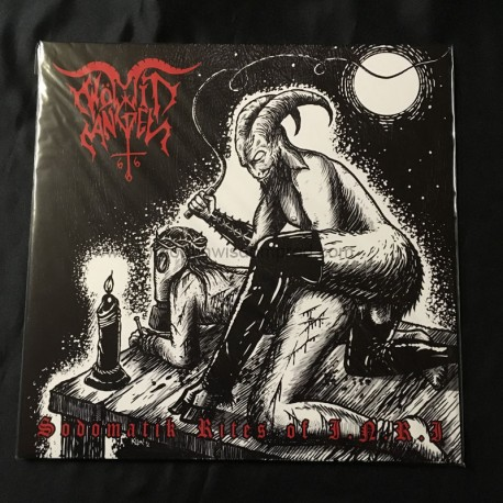 "WOMIT ANGEL ""Sodomatik Rites of I.N.R.I"" 12""LP"