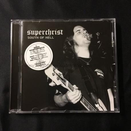 """SUPERCHRIST """"South of Hell"""" CD"""