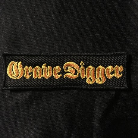 GRAVE DIGGER patch