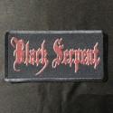 BLACK SERPENT logo patch