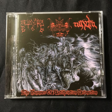 DETONATOR666/HAMMERGOAT/TUNDRA split CD