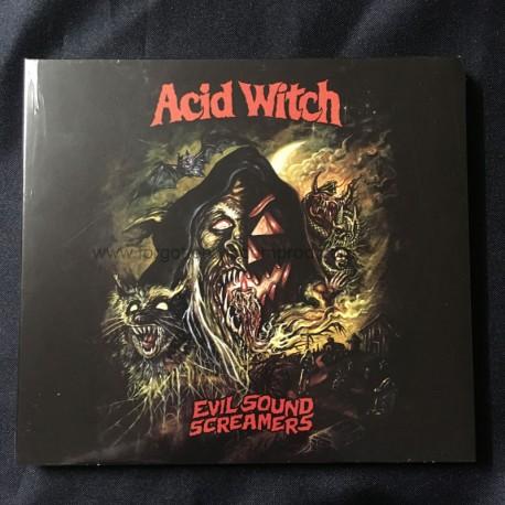 "ACID WITCH ""Evil Sound Screamers"" Digipack CD"