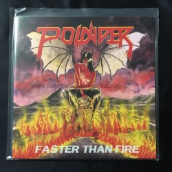 "POUNDER ""Faster than Fire"" 7""EP"