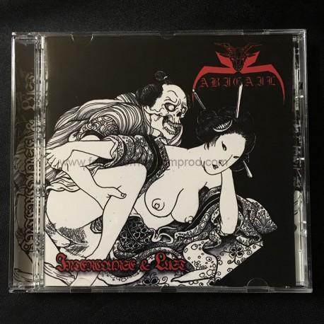 "ABIGAIL ""Intercourse & Lust"" CD"