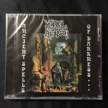 """MOENEN OF XEZBETH """"Ancient Spells of Darkness..."""" CD"""