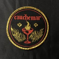 """CAUCHEMAR """"Chapelle Ardente"""" round patch"""