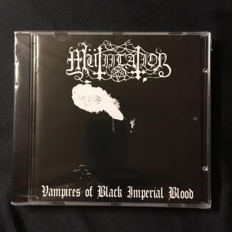 """MUTIILATION """"Vampires of Black Imperial Blood"""" CD"""