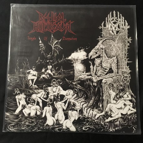 """BESTIAL HOLOCAUST """"Temple of Damnation"""" 12""""LP"""