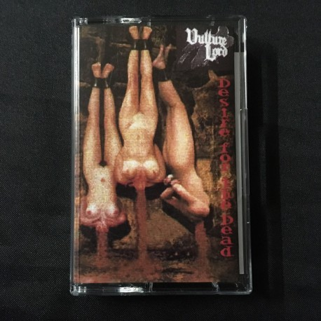 """VULTURE LORD """"Desire for the Dead"""" Pro Tape"""