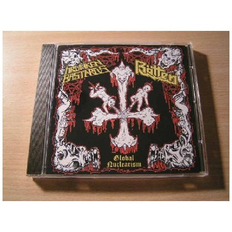 DRUNKEN BASTARDS/RÖTTEN split CD