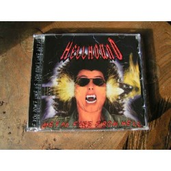 "HELLHOUND ""Metal Fire From Hell"" CD"