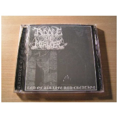 "RIDDLE OF MEANDER ""End of all Life and Creation"" CD"