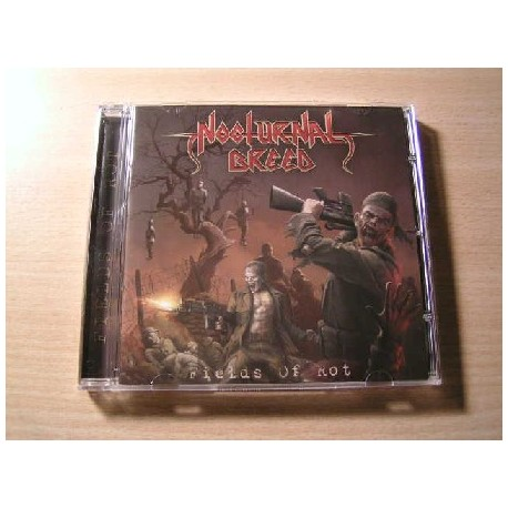 "NOCTURNAL BREED (Norway) ""Fields of Rot"" CD"