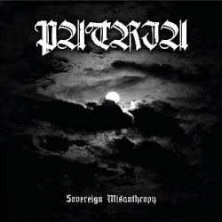 "PATRIA ""Sovereign Misanthropy"" CD"