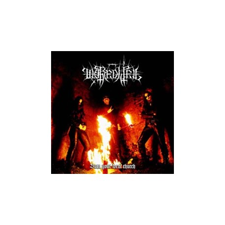 "MOREDHEL ""Burn your local Church"" CD"