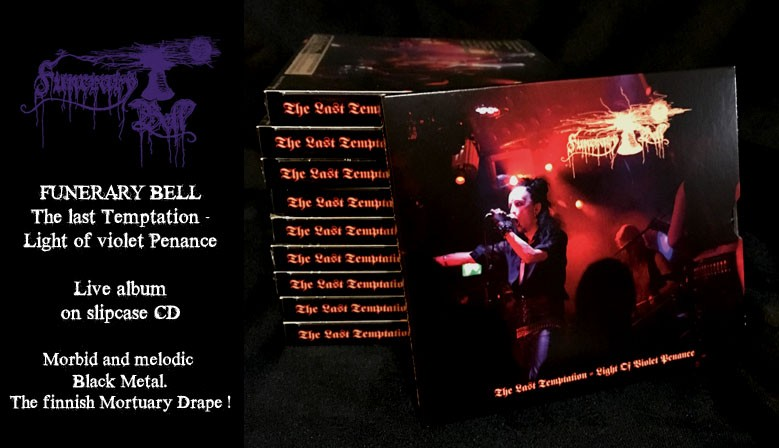 Funerary Bell The last Temptation CD