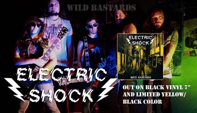 "ELECTRIC SHOCK Wild Bastards 7""EP"