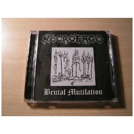"NECROFAGO ""Brutal Mutilation"" CD"