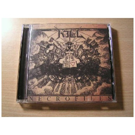 """KILL """"Necrofiles"""" CD"""