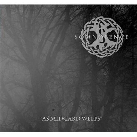 "SOMNOLENCE ""As Midgard Weeps"" CD"