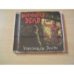 "DISFIGURED DEAD ""Visions of Death"" CD"