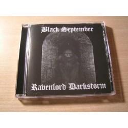 BLACK SEPTEMBER/RAVENLORD DARKSTORM split CD