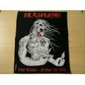 BLASPHEMY - Live Ritual backpatch