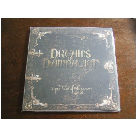 """DREAMS OF DAMNATION """"Epic Tales of Vengeance"""" 12""""LP"""