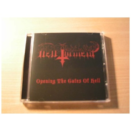 "HELL TORMENT (Peru) ""Opening the Gates of Hell"" CD"