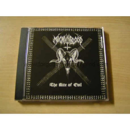 """NECROBLOOD """"The Rite of Evil"""" CD"""