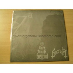 "BLACK TEMPLE BELOW/FUOCO FATUO split 12""LP"