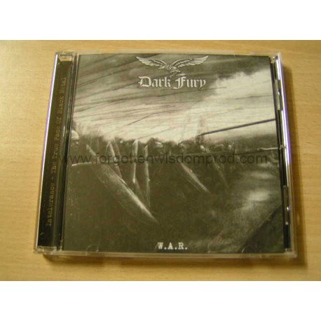 """DARK FURY """"W.A.R."""" CD"""