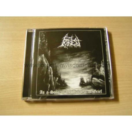 """FOREST """"As a Song In The Harvest Of Grief"""" CD"""