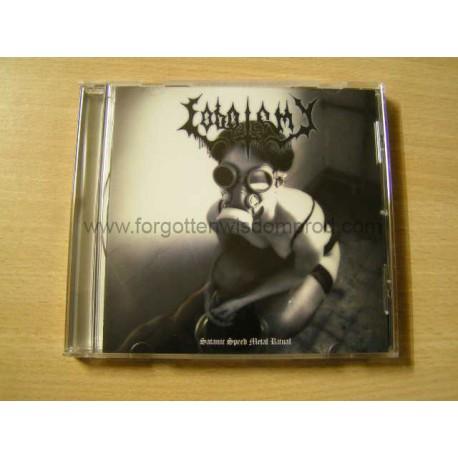 "LOBOTOMY ""Satanic Speed Metal Ritual"" CD"