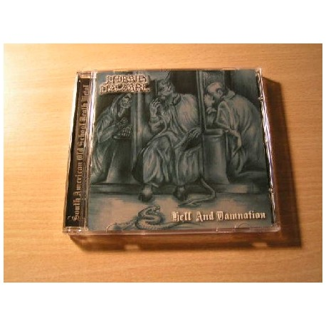 """MORBID MACABRE """"Hell and Damnation"""" CD"""