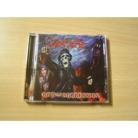"NUCLEAR WARFARE ""God of Aggression"" CD"