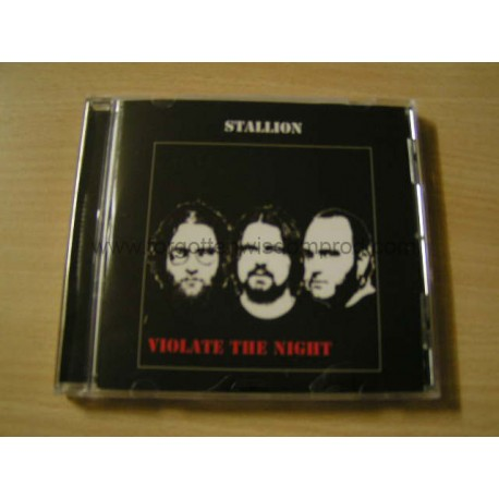 "STALLION ""Violate the Night"" CD"