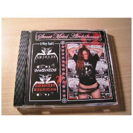STREET METAL HOLOCAUST 3 way split CD