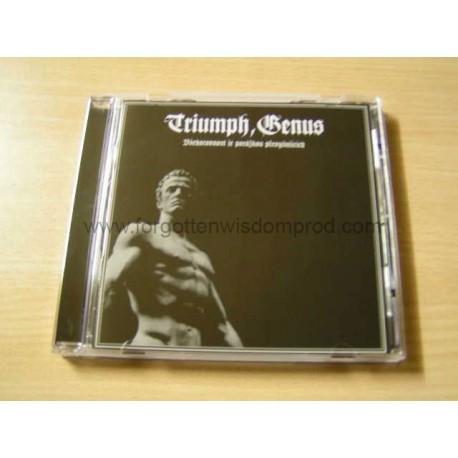 """TRIUMPH, GENUS """"Vsehorovnost je porazkou..."""" CD"""