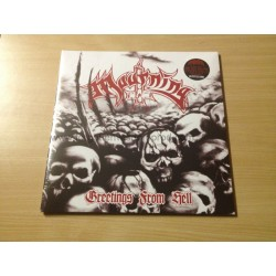 """MOURNING """"Greetings from Hell"""" 12""""LP"""
